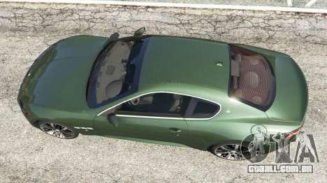 GTA 5 Maserati GranTurismo S 2010 voltar vista