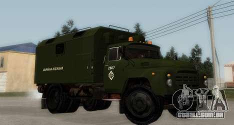 ZIL-130 de Água de Emergência para GTA San Andreas