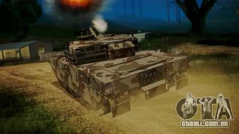 GTA 5 Rhino Tank para GTA San Andreas esquerda vista