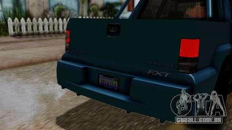 Syndicate Criminal (Cavalcade FXT) from SR3 para GTA San Andreas vista direita