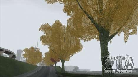 Autumn in SA v2 para GTA San Andreas por diante tela