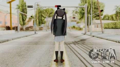 K - ON Remake Asuza Nakano para GTA San Andreas terceira tela