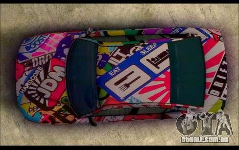 Bravado Buffalo Sticker Bom para GTA San Andreas vista direita