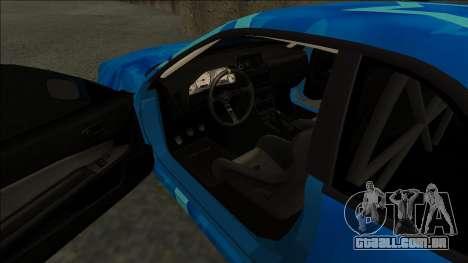 Nissan Skyline R34 Drift Blue Star para GTA San Andreas vista direita