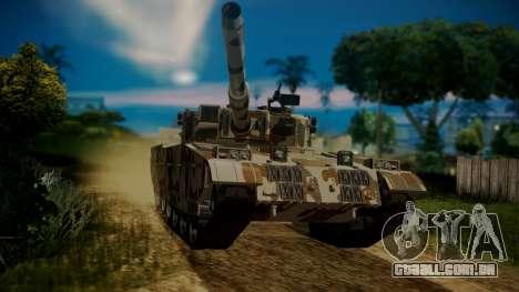 GTA 5 Rhino Tank para GTA San Andreas vista direita