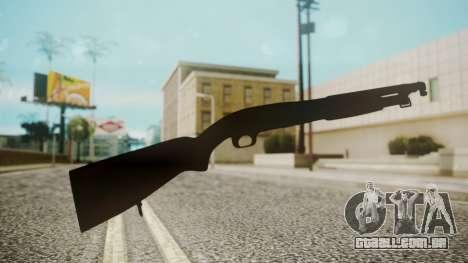Winchester M1912 para GTA San Andreas terceira tela