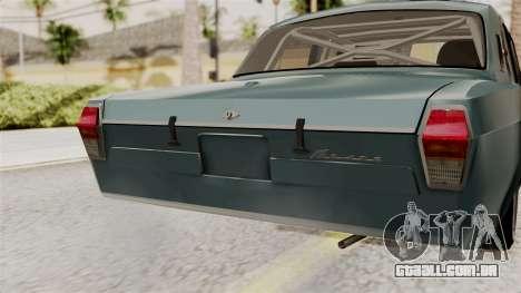 O Anel de GÁS 24 para GTA San Andreas vista traseira