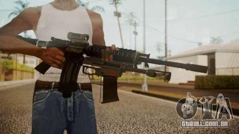 M4 with M26 Mass para GTA San Andreas terceira tela