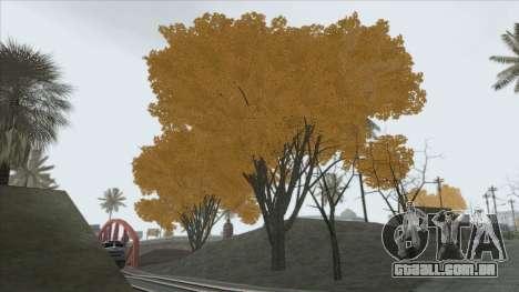 Autumn in SA v2 para GTA San Andreas segunda tela
