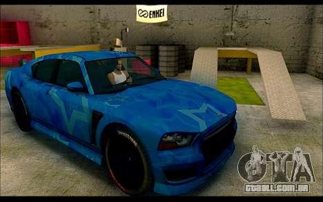 Bravado Buffalo Blue Star para GTA San Andreas