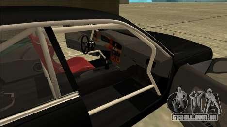 Nissan Cedric Drift para GTA San Andreas traseira esquerda vista