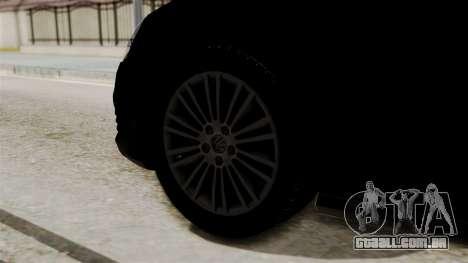 Volkswagen Golf R32 NFSMW05 Sonny PJ para GTA San Andreas traseira esquerda vista