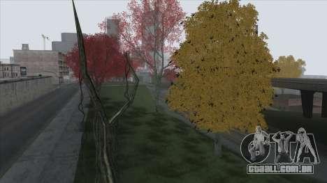 Autumn in SA v2 para GTA San Andreas sexta tela