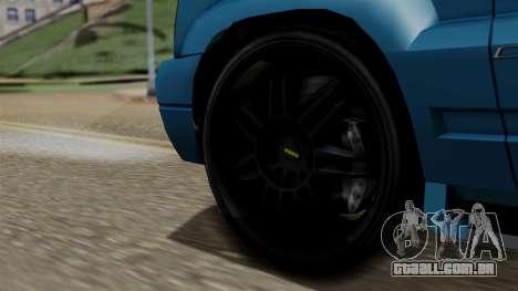 Syndicate Criminal (Cavalcade FXT) from SR3 para GTA San Andreas traseira esquerda vista