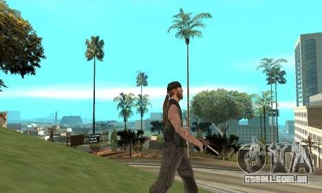Deagle para GTA San Andreas por diante tela