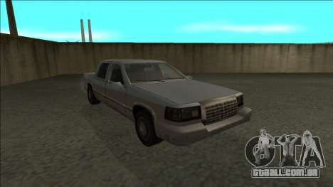 Stretch Sedan para GTA San Andreas vista traseira