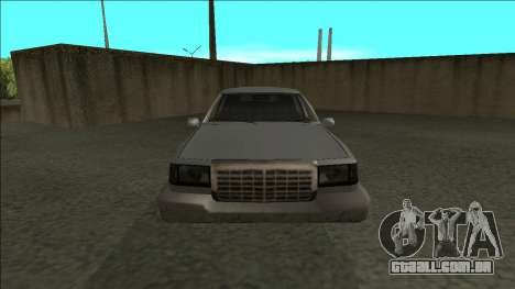 Stretch Sedan para GTA San Andreas vista direita