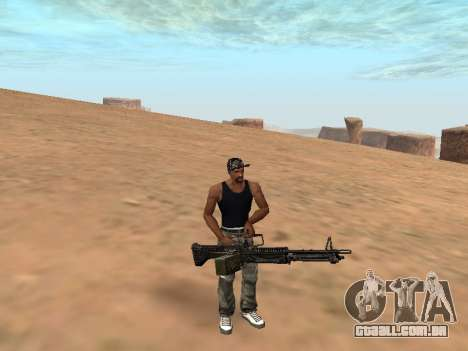 M249 para GTA San Andreas
