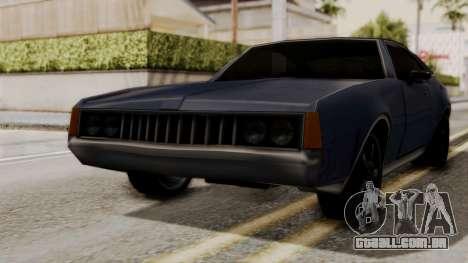 Clover Dub Edition para GTA San Andreas traseira esquerda vista