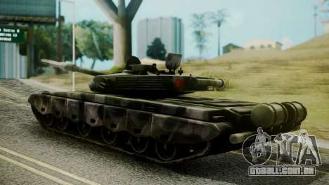Type 99 from Mercenaries 2 para GTA San Andreas esquerda vista