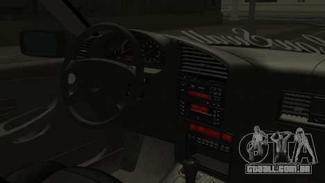 BMW M3 E36 Coupe para GTA San Andreas vista direita