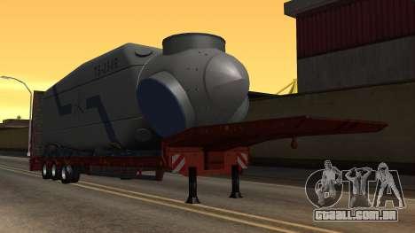 Overweight Trailer Stock para GTA San Andreas