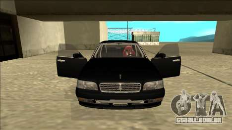 Nissan Cedric Drift para GTA San Andreas vista interior