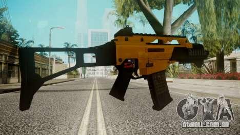 G36C Gold para GTA San Andreas terceira tela