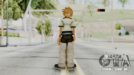 Kingdom Hearts 2 - Roxas Default para GTA San Andreas terceira tela
