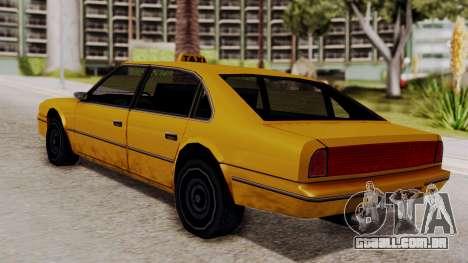 Taxi Emperor v1.0 para GTA San Andreas esquerda vista