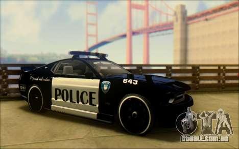Insípido Dominator Transformadores De Carro De P para GTA San Andreas vista direita