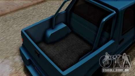 Syndicate Criminal (Cavalcade FXT) from SR3 para GTA San Andreas vista traseira