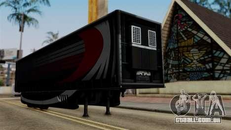 Aero Dynamic Trailer Stock para GTA San Andreas