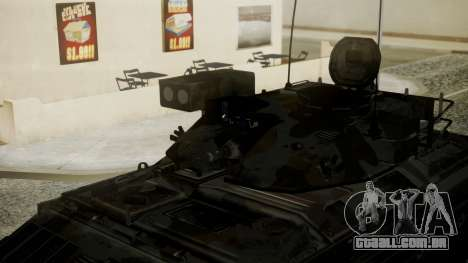 VD-1710 Armadillo APC Camo para GTA San Andreas traseira esquerda vista