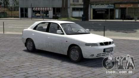 Daewoo Nubira I Hatchback CDX 1997 para GTA 4 interior