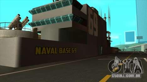 Novas texturas San Fierro para GTA San Andreas por diante tela