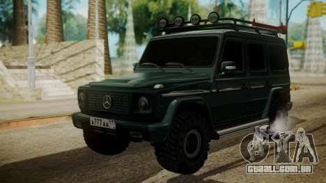 Mercedes-Benz G500 Off-Road para GTA San Andreas