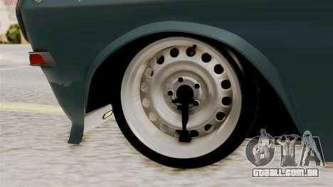 O Anel de GÁS 24 para GTA San Andreas traseira esquerda vista