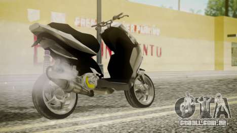 NRG Power Tuning para GTA San Andreas esquerda vista