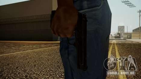 Beretta M9 Battlefield 3 para GTA San Andreas terceira tela