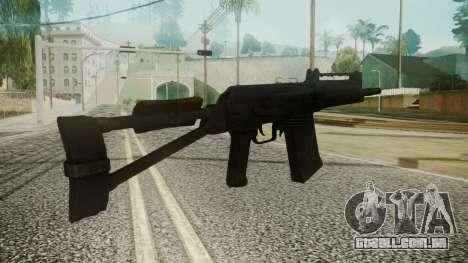 SAIGA Battlefield 3 para GTA San Andreas segunda tela