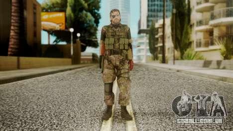 Venom Snake Woodland para GTA San Andreas segunda tela