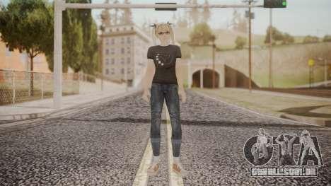 DoA 5 Ultimate - Marie Rose Punk para GTA San Andreas segunda tela