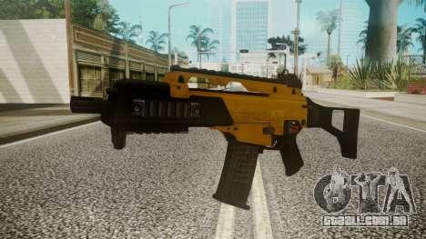G36C Gold para GTA San Andreas segunda tela