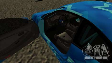 Toyota MR2 Drift Blue Star para GTA San Andreas vista direita