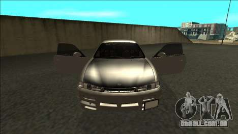 Nissan 200sx Drift JDM para GTA San Andreas vista interior