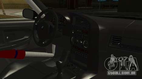 BMW M3 E36 Happy Drift Friends para GTA San Andreas vista direita