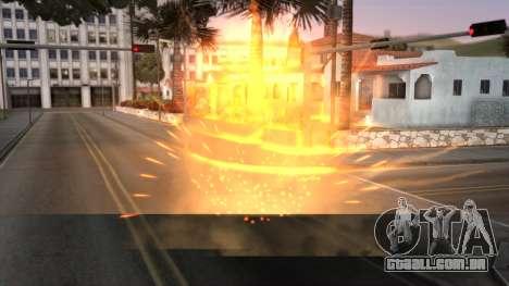 Realistic Effects Particles para GTA San Andreas segunda tela