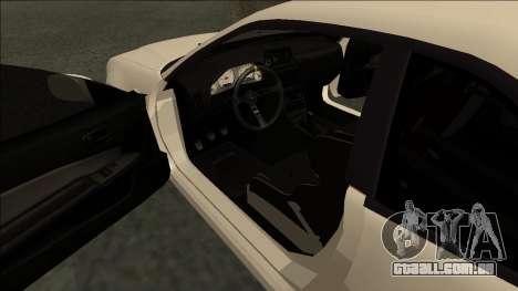 Nissan Skyline R34 Drift JDM para GTA San Andreas vista direita