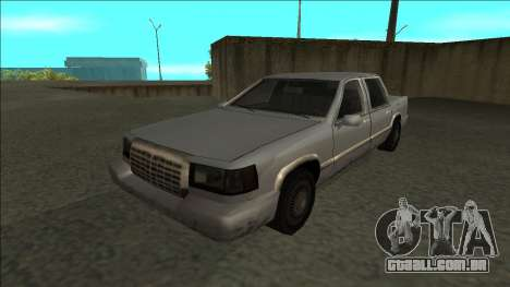 Stretch Sedan para GTA San Andreas traseira esquerda vista